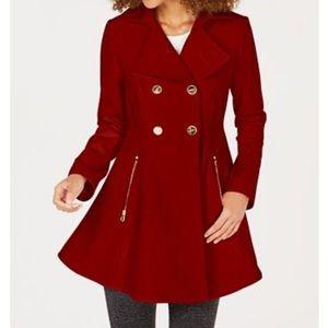 Petite Skirted Pea Coat